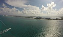 Fly Parasail Cancun experience