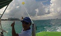volar en parasail cancun