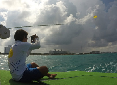 Parasailing in Isla Mujeres