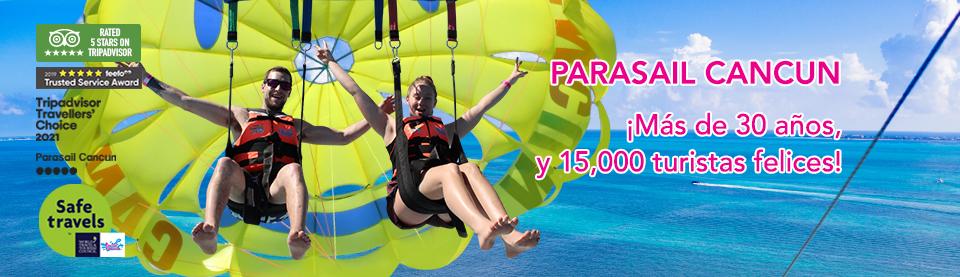 Parasail cancun