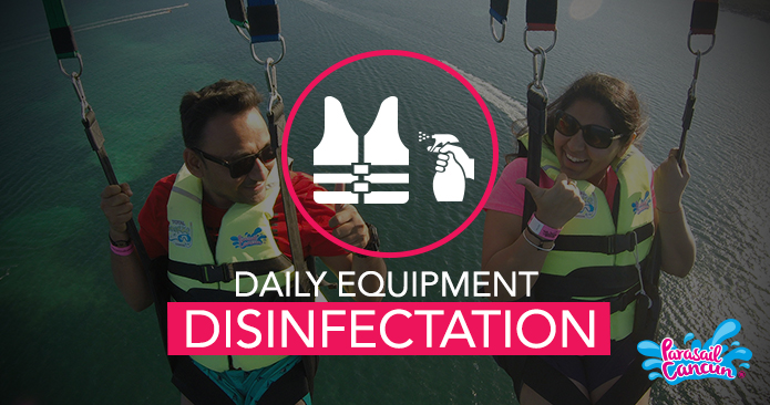 Daily equipment and facilities disinfectation