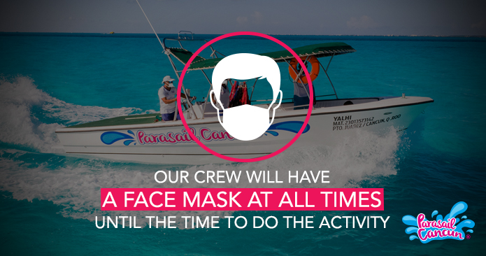 Face masks required for travelers and guides