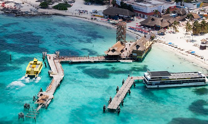 Parasailing en Cancun