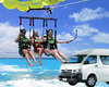 Cancun Parasail with air conditioned transportation