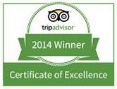 trip advisor certificado de excelencia parasail cancun