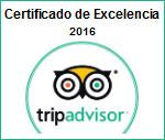 trip advisor certificado de excelencia 2016 parasail cancun
