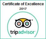 trip advisor certificado de excelencia 2017 parasail cancun