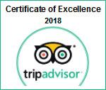 trip advisor certificado de excelencia 2018 parasail cancun